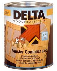 DELTA Fenster Compact 6.05 - průhledný Balení 2,5l