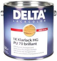 DELTA Klarlack PU 70, brillant Balení 0,75l