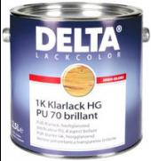 DELTA Klarlack PU 70, brillant Balení 2,5l